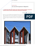 Cómo es vivir en una casa del arquitecto Alejandro Aravena - The Clinic Online