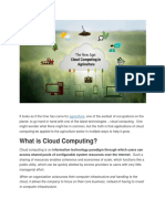 cloud computing challenge