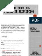 gestion 3 ley estatuto del colegio de arquitectos
