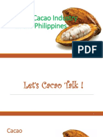 Cacao Industry in the Philippines