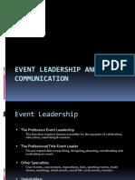 event leadership