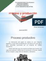Proceso de creación del papel