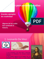 ejemplos creatividad