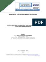 MEMORIAS DE CALCULO SISTEMA CONTRA INCENDIO matapalo.pdf