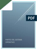 Partes de un Sistema Operativo