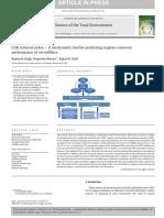 Índice de eliminación de DQO una herramienta mecanicista para predecir el rendimiento de eliminación de compuestos orgánicos de vermifiltros
