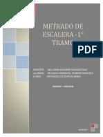 METRADO DE ESCALERA-TRABAJO SENCICO