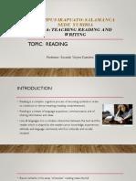 Teaching Reading & Writing