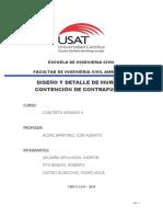 DISEÑO Y ANALISIS DE MURO DE CONTENCION DE CONTRAFUERTE
