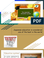 Educational system in Japan