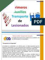 Primeros Auxilios Transporte de Lesionados.pptx