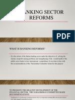 Banking Reforms 1991