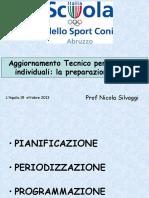 La Preparazione Fisica Negli Sport Individuali Silvaggi 2013