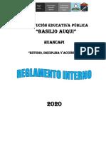 RI BASILIO AUQUI 2020