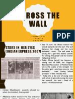 Across the wall