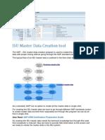 ISU Master Data Creation tool.docx