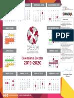 Calendario CRESON