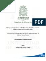 giovannizapata_estrategiapedagogica CONVIVENCIA RESTAURATIVA