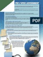 Manifesto dell'Opengovernment