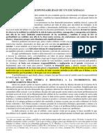 SENTIDO Y RESPONSABILIDAD DE UN ESCÁNDALO (CENCINI)