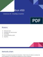 Live de Python #30