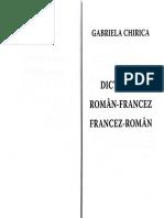 Dictionar roman-francez, francez-roman - Gabriela Chirica (1)