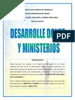 MES DE AGOSTO DESARROLLE DONES Y MINISTERIOS  LECCIONES LISTAS (1)