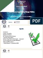 Panorama Seguridad y  riesgo público Colombia