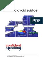 How to Avoid Suislide