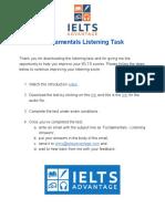 IELTS Advantage_ Fundamentals Listening Task