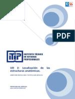UD 2  - Localización de estructuras anatómicas