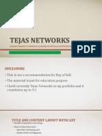 Tejas Networks-VP blr compressed