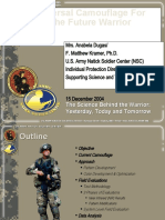 Universal Camouflage for the Future Force Warrior Ppt