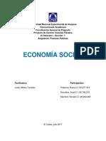 Informe economia social