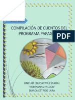 """COMPILACIÓN DE CUENTOS  PROGRAMA PAPAGAYO U.E. """"HERMANAS FALCÓN"""""""