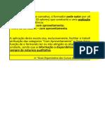 Registo Avaliacao- UFCD - Ap. Fam