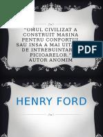 henry ford penru economie