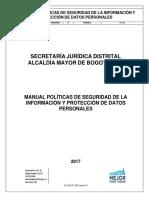 Manual de Politicas de Seguridad de la Información