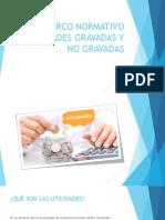 UTILIDADES GRAVADAS Y NO GRAVADAS