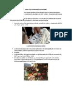ASPECTOS ECONOMICOS DICIEMBRE