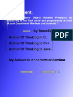 My_seminar on Oop