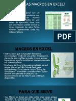 EXPOSICIÓN DE MACROS