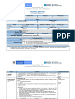 Example of activity plan
