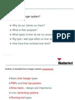 Liner Hanger training #1 - Casing Design & Liner Types