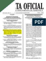 Páginas 1 Gaceta oficial Nº 40.978