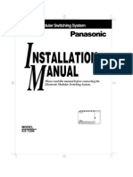Pabx Kx t206 Installation Manual1