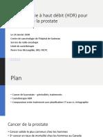 Présentation Curie Prostate