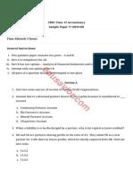 11 Sample Paper