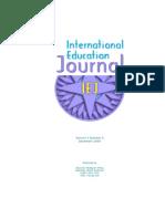 International Education Jurnal