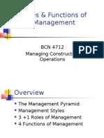 Roles of Management com